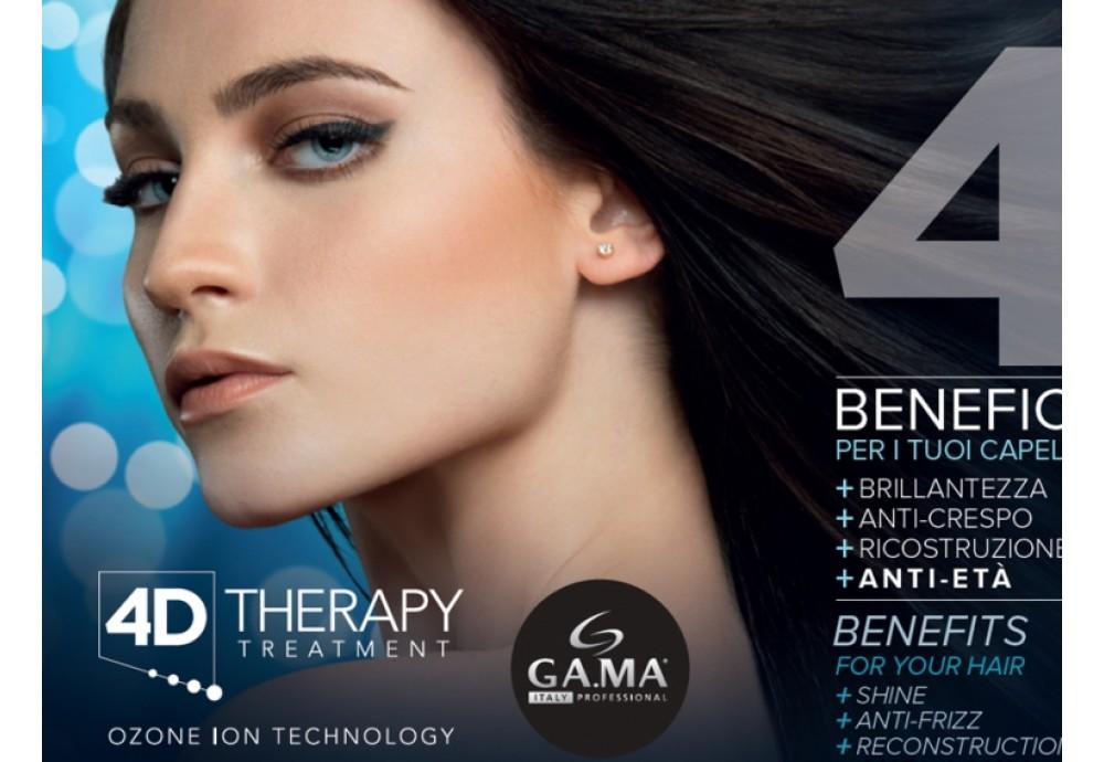 GA.MA 4D THERAPY - нова серія з комплексного догляду за волоссям